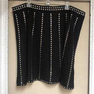 Harper & Liv studded skirt